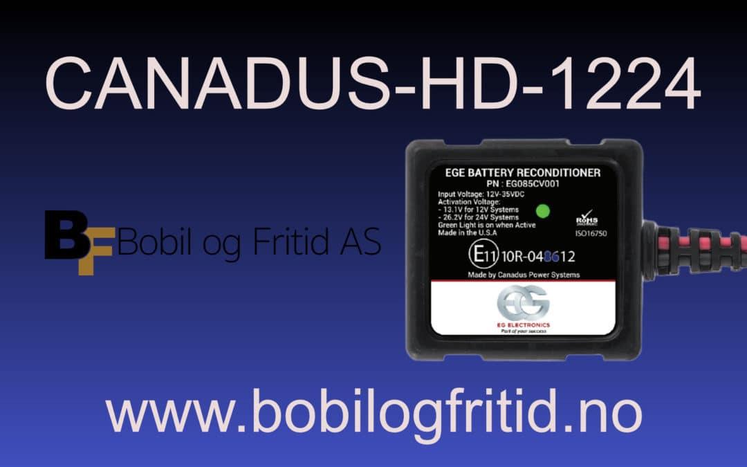 Canadus HD-1224 – Bobil og Fritid AS