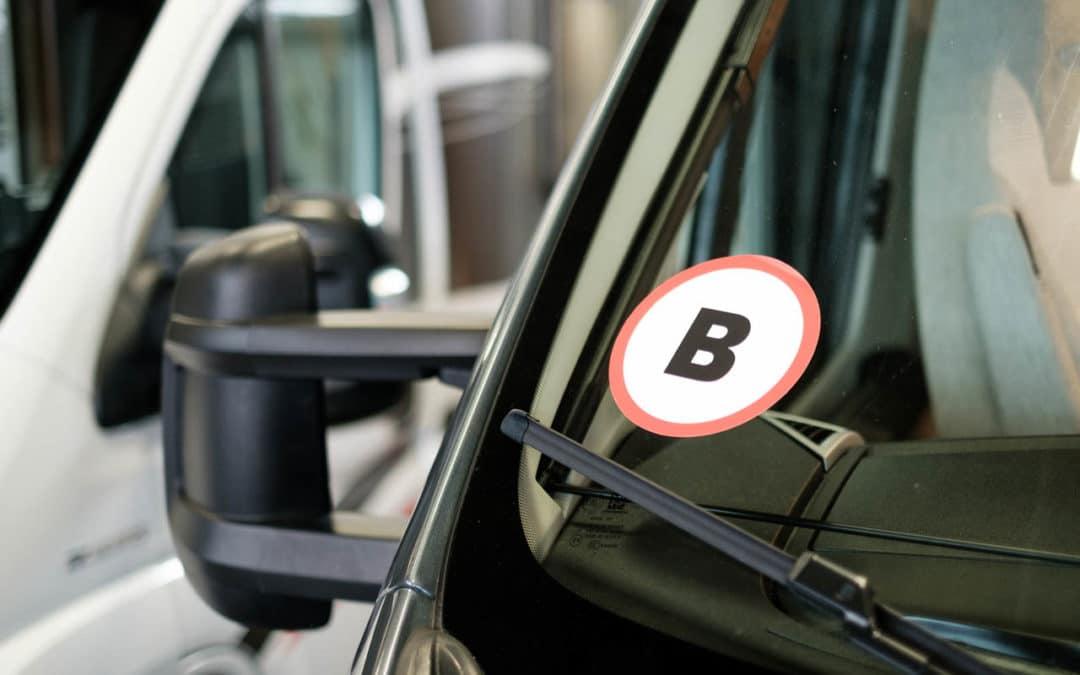 Bobiler og førerkortklasser hos Bobil og Fritid AS